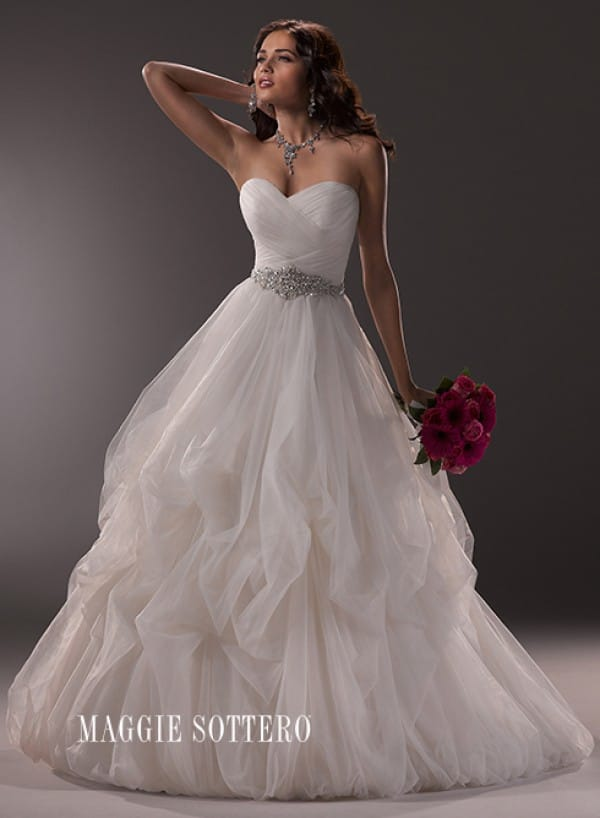 Chimere wedding dress