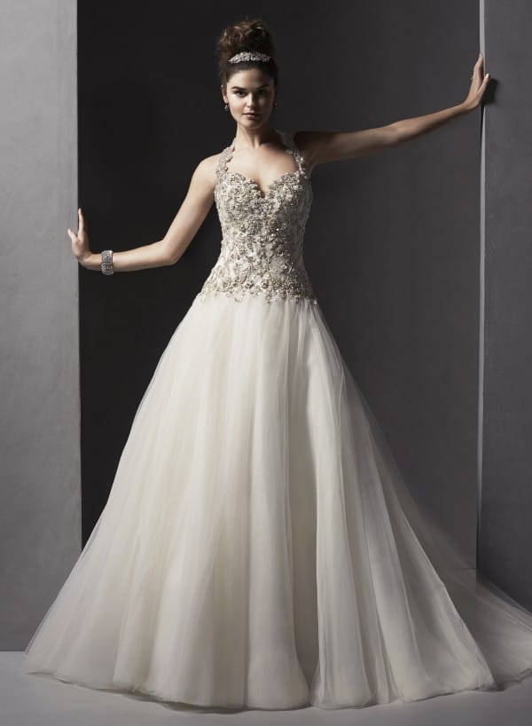 Danica wedding dress