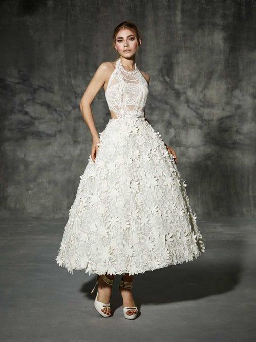 Besalu vestuvinė suknelė