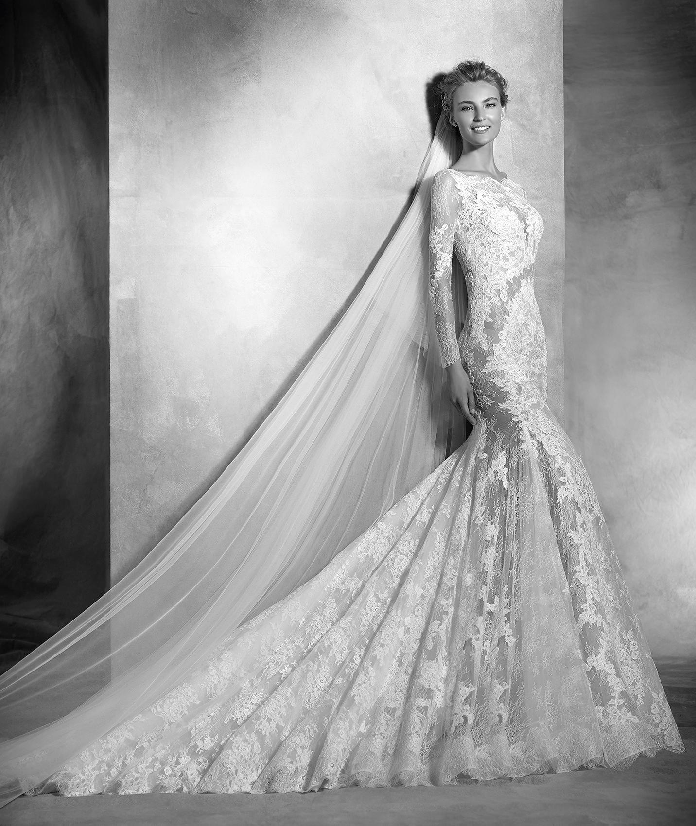 Varel vestuvinė suknelė