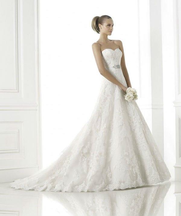 Basma vestuvinė suknelė