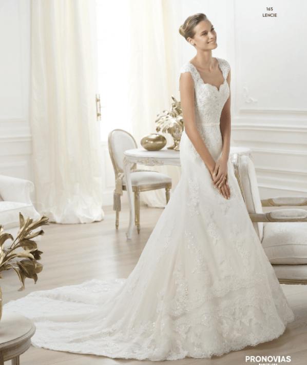 Lencie vestuvinė suknelė