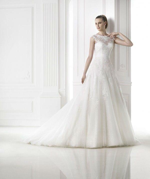 Meda vestuvinė suknelė