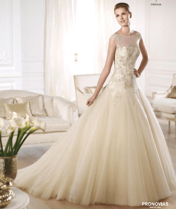 Obdulia vestuvinė suknelė