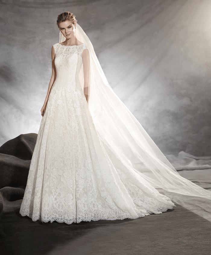 Olivana vestuvinė suknelė