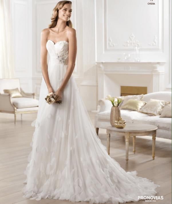 Orera vestuvinė suknelė
