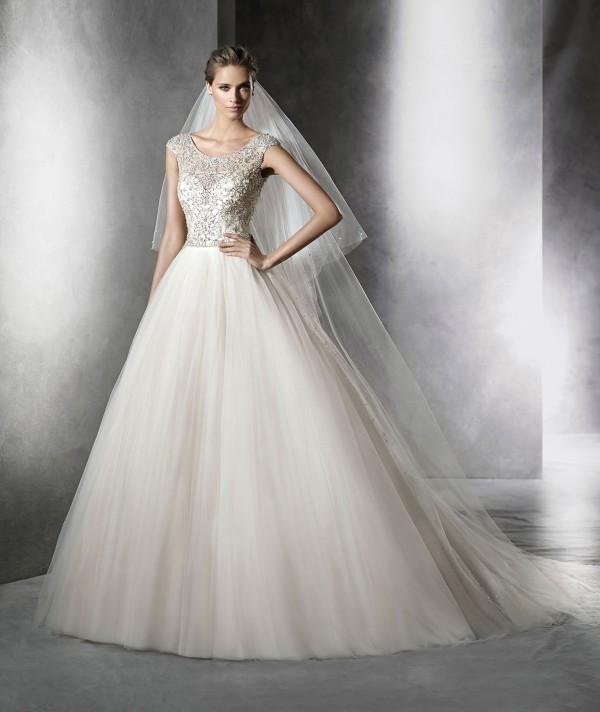 Prismal vestuvinė suknelė