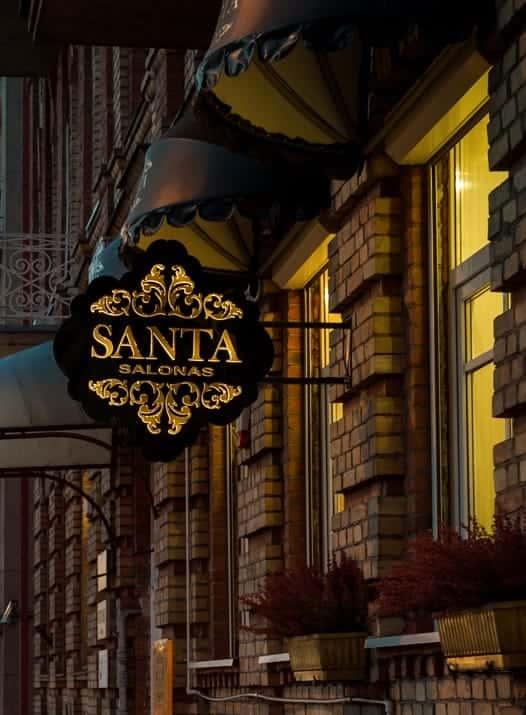 Vestuvinės suknelės Santa salonas
