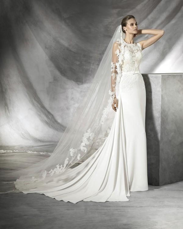 Tesia vestuvinė suknelė