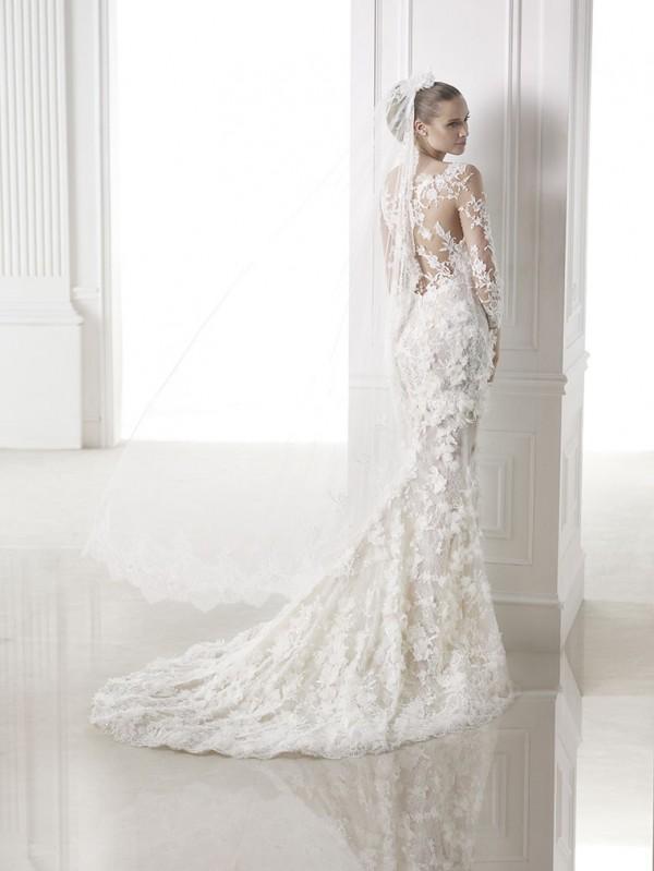 vestuvines-sukneles-pronovias-capricornio-3
