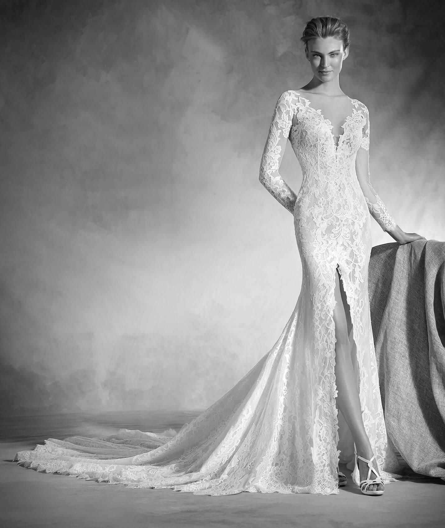 vestuvines-sukneles-pronovias-nenufar