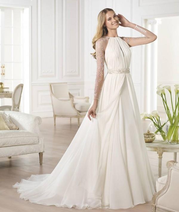 vestuvines-sukneles-pronovias-yojeida