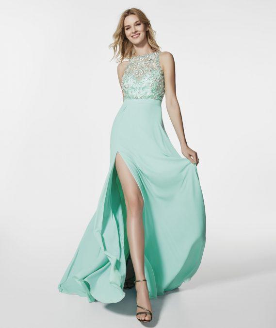 Green suknelė