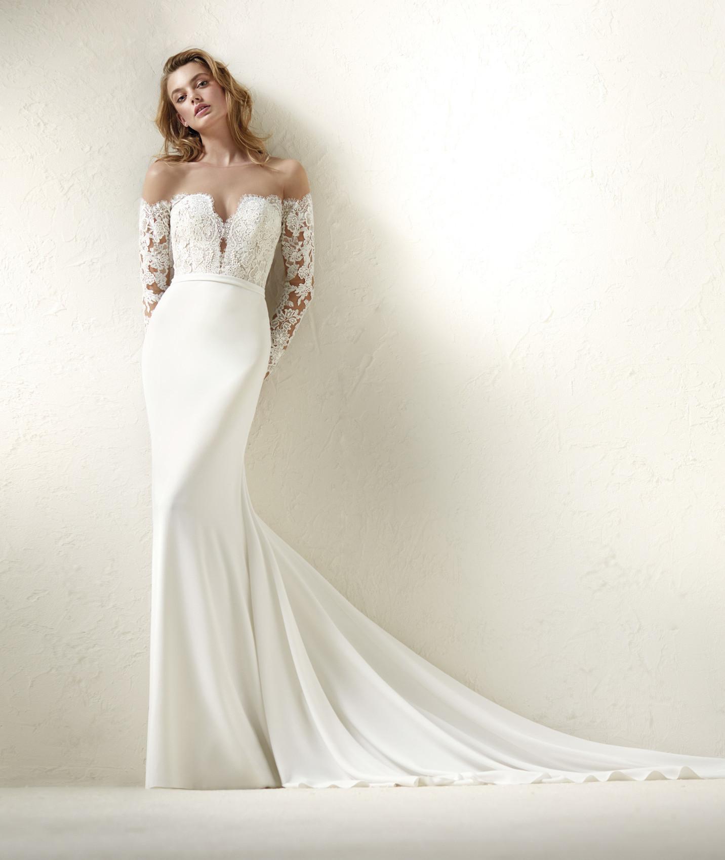 vestuvines sukneles pronovias dracma