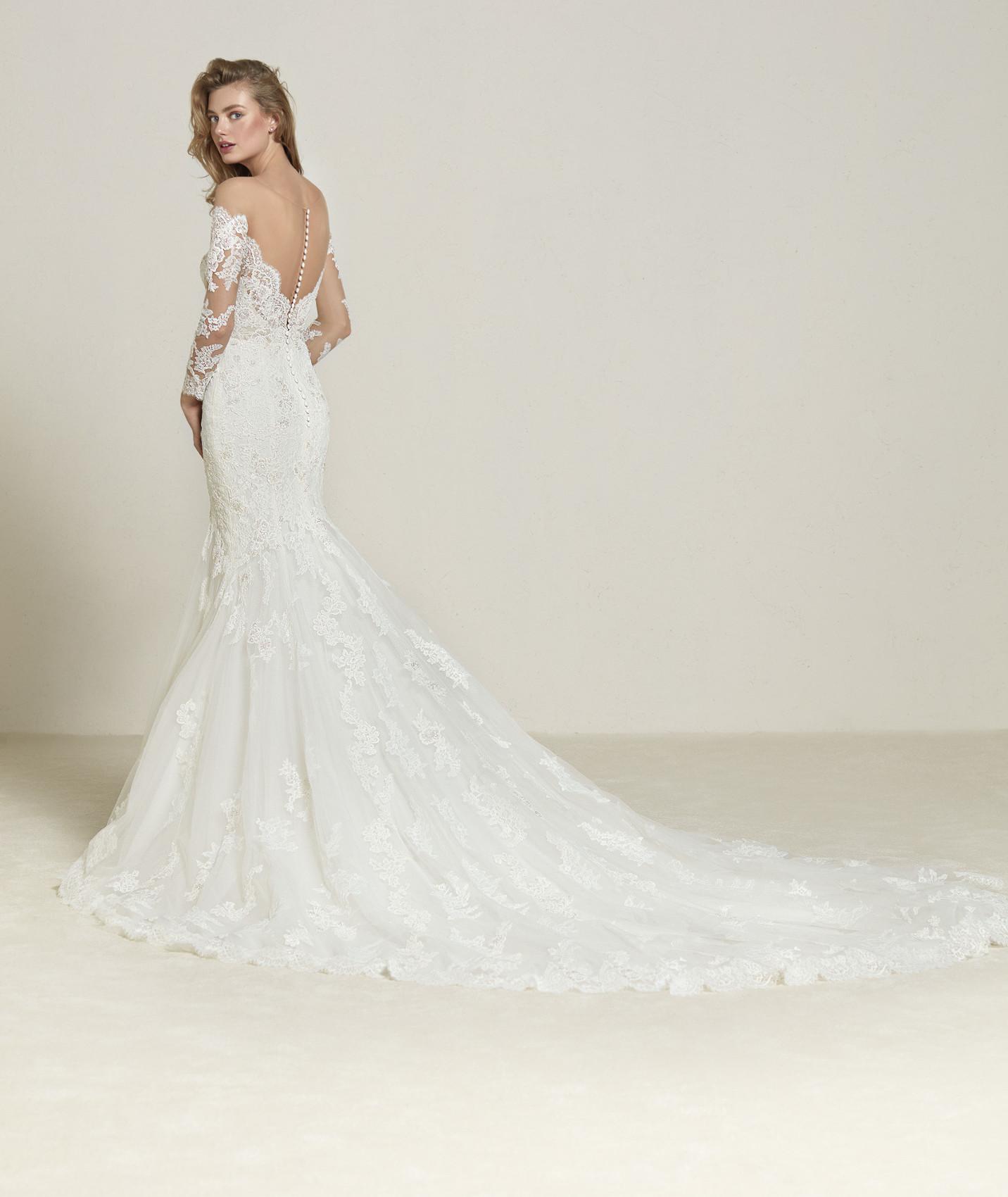 vestuvines sukneles pronovias drilia b