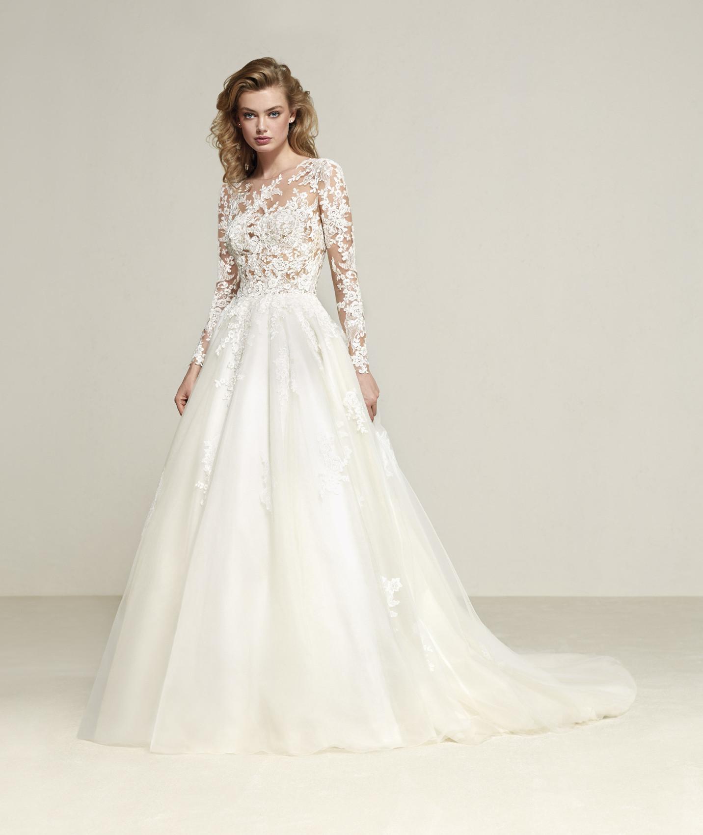 Drizana vestuvinė suknelė